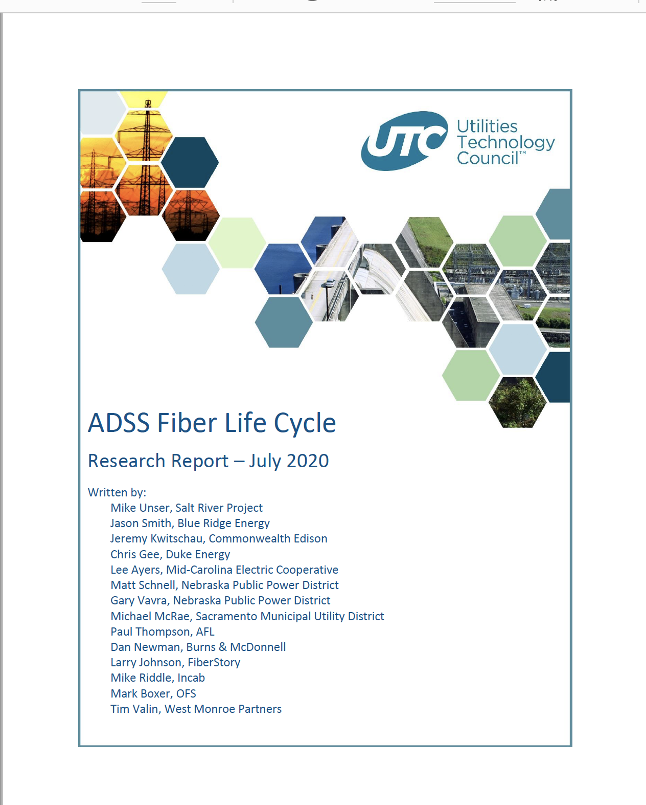 The UTC ADSS Report